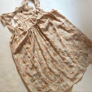 Rebecca Taylor Sequin silk tank